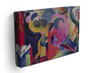 Composition III by Franz Marc Canvas Print or Poster - Canvas Art Rocks - 3