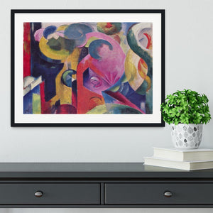 Composition III by Franz Marc Framed Print - Canvas Art Rocks - 1