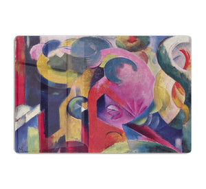 Composition III by Franz Marc HD Metal Print