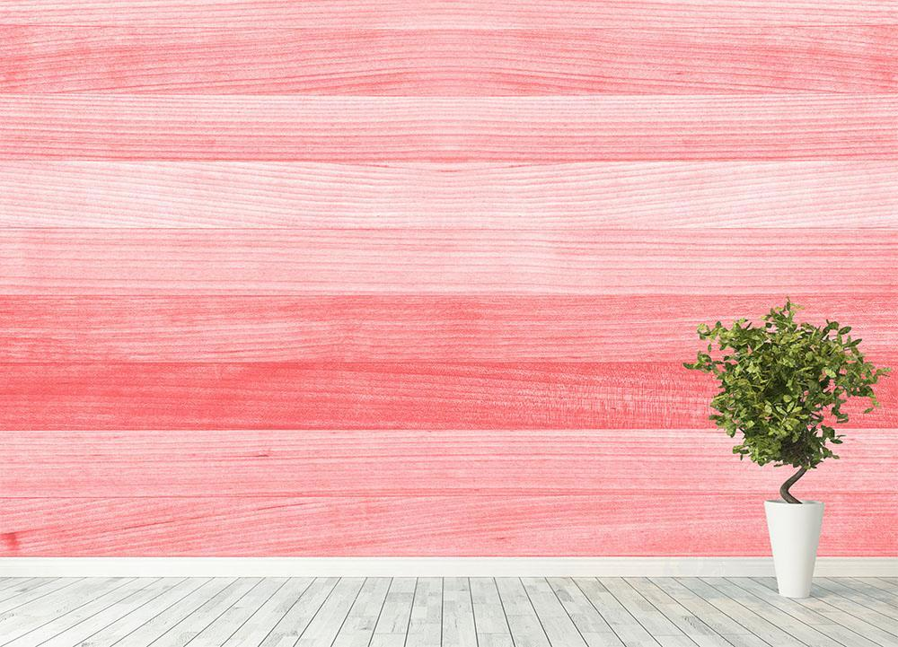 Coral pink or peach and salmon color Wall Mural Wallpaper ...