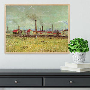 Corner of Voyer d Argenson Park at Asnieres 2 by Van Gogh Framed Print - Canvas Art Rocks - 4