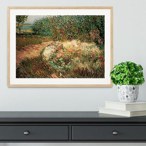 Corner of Voyer d Argenson Park at Asnieres by Van Gogh Framed Print - Canvas Art Rocks - 3