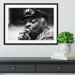 Count Basie Framed Print - Canvas Art Rocks - 1