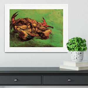 Crab on Its Back by Van Gogh Framed Print - Canvas Art Rocks - 5