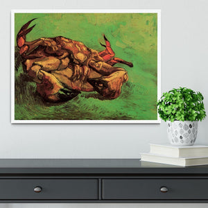 Crab on Its Back by Van Gogh Framed Print - Canvas Art Rocks -6