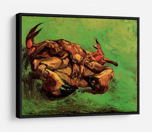 Crab on Its Back by Van Gogh HD Metal Print