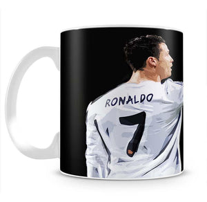 Cristiano Ronaldo Mug - Canvas Art Rocks - 2