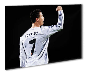Cristiano Ronaldo Outdoor Metal Print - Canvas Art Rocks - 1