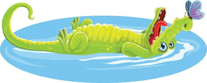 Crocodile Wall Sticker - Canvas Art Rocks - 3