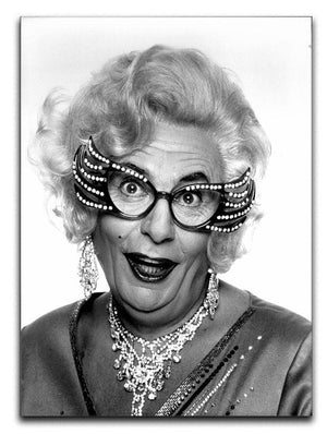 Dame Edna Everage Canvas Print or Poster  - Canvas Art Rocks - 1