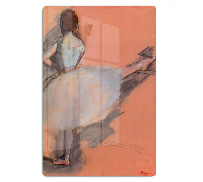 Dancer at the bar 1 by Degas HD Metal Print