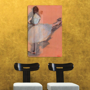 Dancer at the bar 1 by Degas HD Metal Print - Canvas Art Rocks - 2