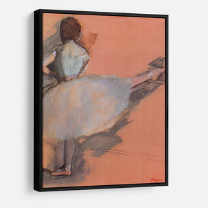 Dancer at the bar 1 by Degas HD Metal Print - Canvas Art Rocks - 6