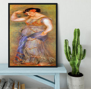 Dancer with castanets by Renoir Framed Print - Canvas Art Rocks - 2