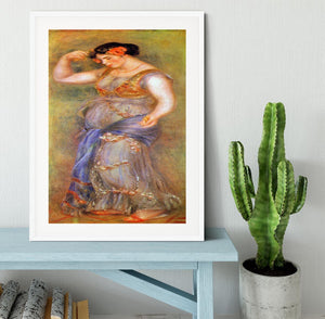 Dancer with castanets by Renoir Framed Print - Canvas Art Rocks - 5