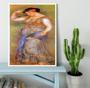Dancer with castanets by Renoir Framed Print - Canvas Art Rocks -6