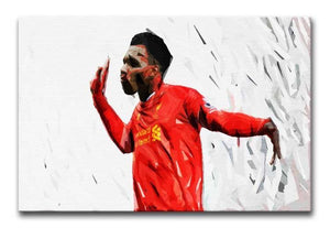 Daniel Sturridge Print - Canvas Art Rocks - 1