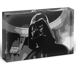 Darth Vader Two Tone Acrylic Block - Canvas Art Rocks - 1