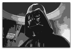 Darth Vader Two Tone Canvas Print & Poster - Canvas Art Rocks