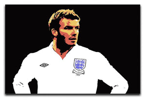 David Beckham Pop Art Canvas Print or Poster  - Canvas Art Rocks - 1