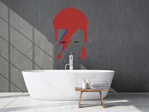 David Bowie Wall Sticker - Canvas Art Rocks