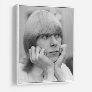 David Bowie with hair HD Metal Print