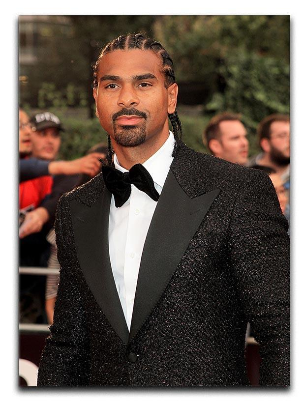 David Haye Canvas Print or Poster  - Canvas Art Rocks - 1