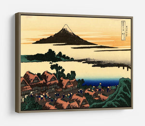 Dawn at Isawa in the Kai province by Hokusai HD Metal Print