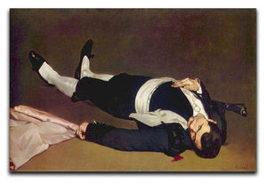 Dead Torero by Manet Canvas Print or Poster  - Canvas Art Rocks - 1