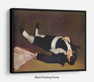 Dead Torero by Manet Floating Frame Canvas