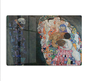 Death and Life by Klimt 2 HD Metal Print