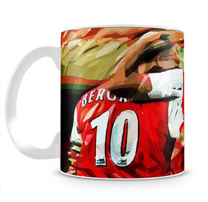 Dennis Bergkamp and Thierry Henry Mug - Canvas Art Rocks - 2