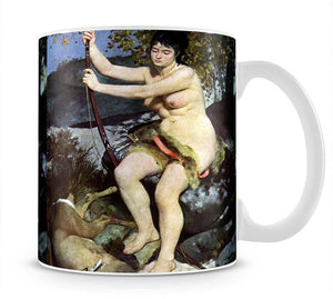 Diana as hunter by Renoir Mug - Canvas Art Rocks - 1