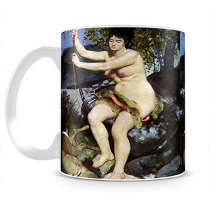 Diana as hunter by Renoir Mug - Canvas Art Rocks - 2
