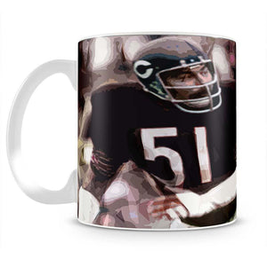 Dick Butkus Chicago Bears Mug - Canvas Art Rocks - 2