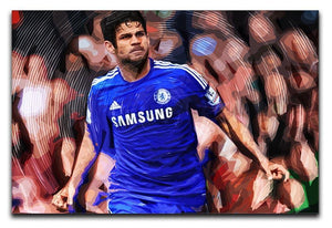 Diego Costa Chelsea Canvas Print or Poster  - Canvas Art Rocks - 1