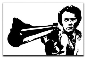 Dirty Harry Canvas Print or Poster  - Canvas Art Rocks - 1