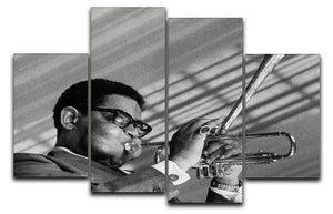 Dizzy Gillespie 4 Split Panel Canvas - Canvas Art Rocks - 1