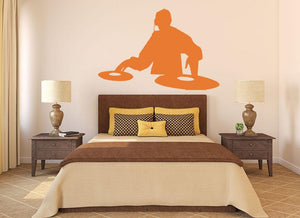 DJ Deck Wall Sticker - Canvas Art Rocks