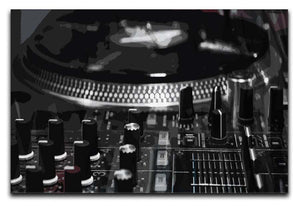 Dj Mixer Canvas Print or Poster  - Canvas Art Rocks - 1