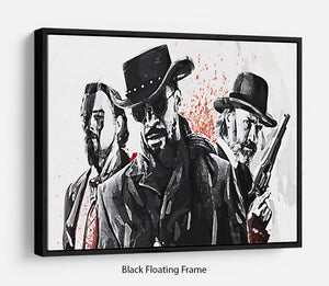 Django Unchained Floating Frame Canvas