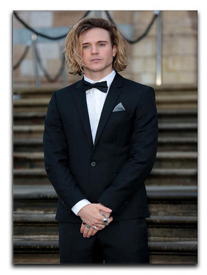 Dougie Poynter Canvas Print or Poster - Canvas Art Rocks - 1