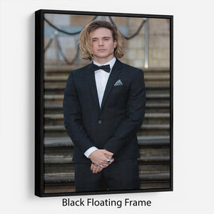 Dougie Poynter Floating Frame Canvas - Canvas Art Rocks - 1