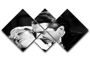 Dracula 4 Square Multi Panel Canvas  - Canvas Art Rocks - 1