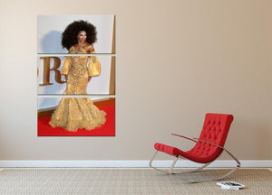Drag Queen Shangela Laquifa Wadley 3 Split Panel Canvas Print - Canvas Art Rocks - 2