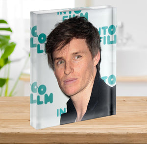 Eddie Redmayne Acrylic Block - Canvas Art Rocks - 2