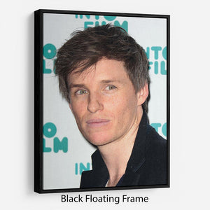 Eddie Redmayne Floating Frame Canvas - Canvas Art Rocks - 1