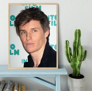 Eddie Redmayne Framed Print - Canvas Art Rocks - 4