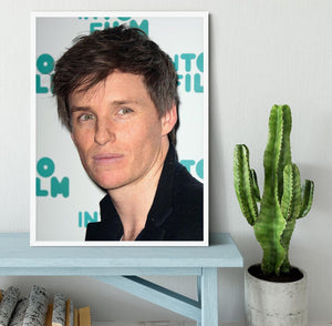Eddie Redmayne Framed Print - Canvas Art Rocks -6