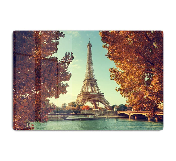 Eiffel tower in autumn time HD Metal Print